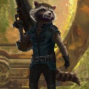 GotGV2 Concept Art Rocket