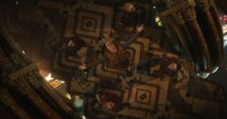 Kaecilius y sus Zealotes en iglesia