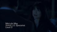 Melinda May S.H.I.E.L.D. Specialist Level 3