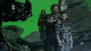 Peter Quill & Peter Parker (Infinity War BTS)
