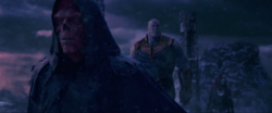 Red Skull con Thanos y Gamora