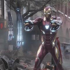 Stark activa el Mark L para confrontar a la Orden Oscura.