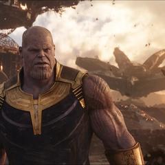 Thanos es confrontado en Titán.