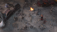 Thor & Cap (Battle of New York)