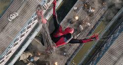 Spider-ManSetsUpTrapForDronesStill