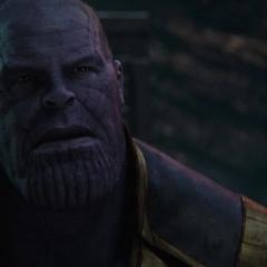 Thanos le explica sus motivaciones a Gamora.