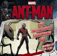 Ant-Man the Incredible Shrinking Suit