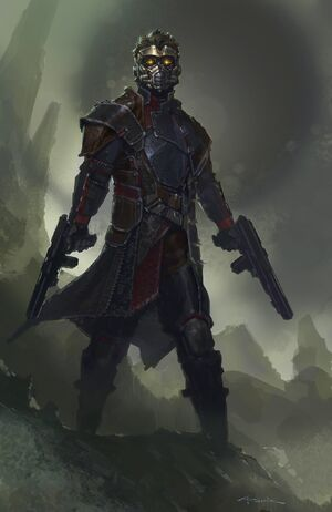 Star-Lord Concept Art 2