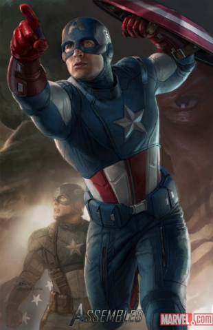 File:Avengers Poster - Captain America.png