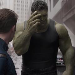 Banner se siente avergonzado por el Hulk del pasado.