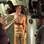 Captain America behind the scenes 14