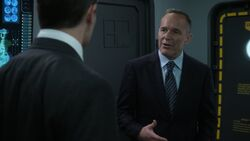 Coulson tells Sousa that they changed his fate