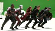 Captain America Civil War Behind The Scenes-1