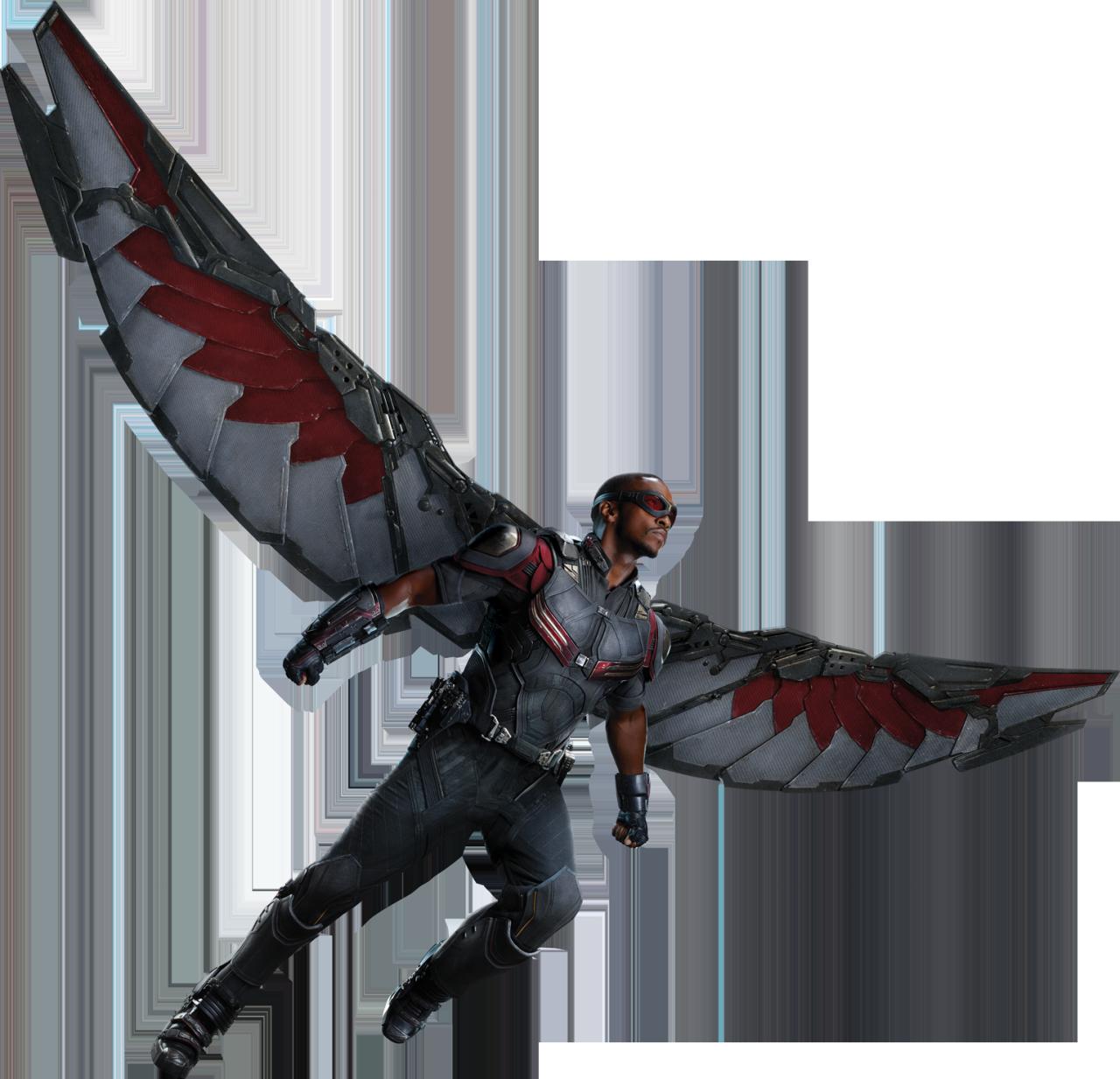Imagen - Civil War Full Body - Falcon.png   Marvel ...