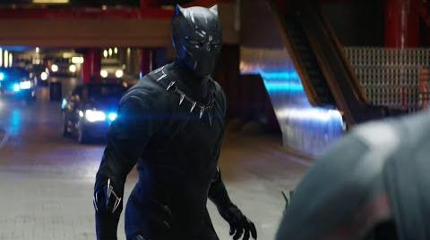 Extended Black Panther Chase Scene In Captain America Civil War (Audi Commercial)