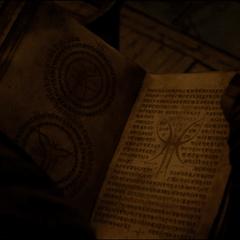Kaecilius encuentra el ritual de la Dimensión Oscura.