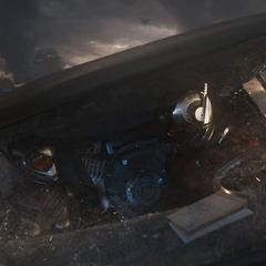 Lang y van Dyne llegan a la Van de Luis para activar el túnel cuántico.