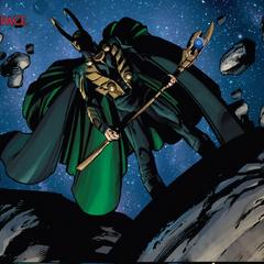 Loki obtiene el Cetro tras hacer un trato con Thanos.