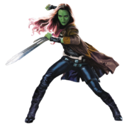 Gamora Vol. 2 Render