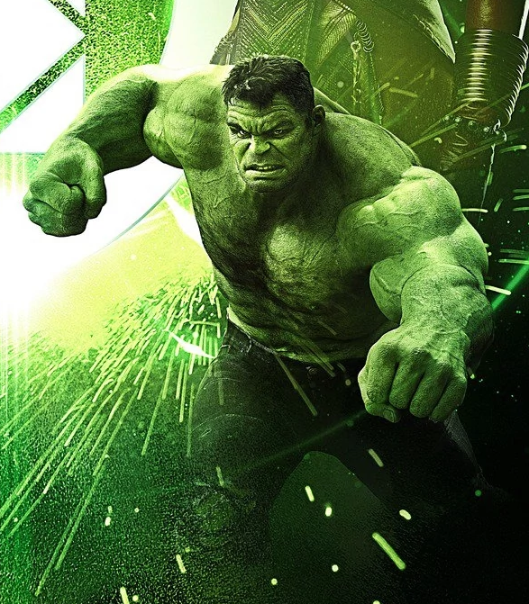 Hulk Infinity War Time Stone Poster.png