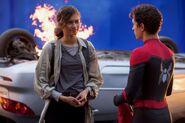 MJ & Spider-Man (FFH BTS)