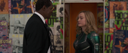 Nick Fury meets Carol Danvers