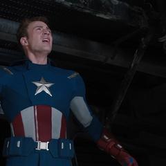 Rogers sigue las órdenes de Stark.