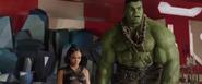 Valkyrie & Hulk (Sakaar)