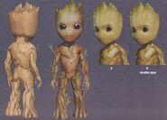 Baby Groot concept art 8