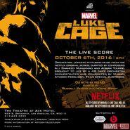Luke Cage The Live Score
