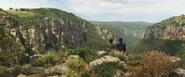 Nakia & T'Challa (Wakandan Cliff)