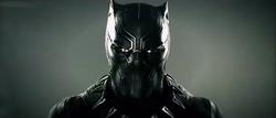 T Challa como Pantera Negra