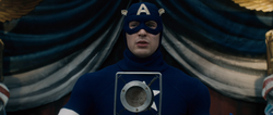 Captain America's USO Uniform