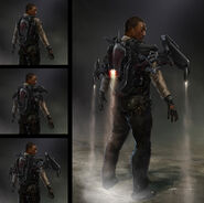 Captain America The Winter Soldier 2014 concept art 40