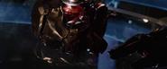 Crushed Iron Man Helmet