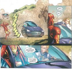 Iron Man Royal Purple Custom Comic Abby Helps