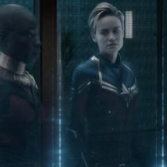 Danvers discute con Rocket sobre su agenda apretada.
