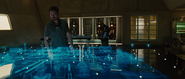 Tony Stark Expo Hologram