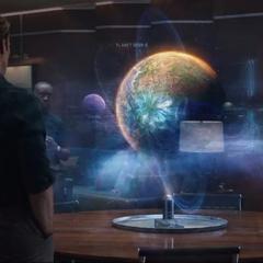 Rocket concluye que Thanos está en Titán II.