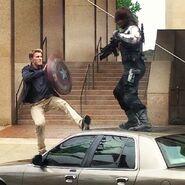 Cap vs Winter Soldier 5