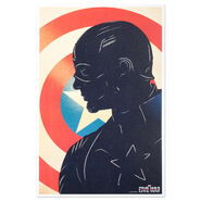 Captain America- The First Avenger Vinyl Cover