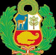 Escudo de armas del Peru