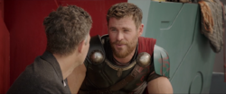 Thor Talking Down to Banner
