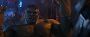 Hulk Outmatched by Thanos