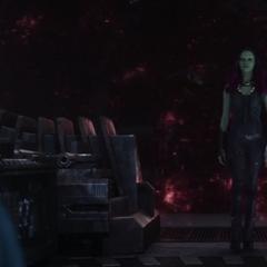 Gamora se reúne con Nebula de 2023.