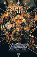 Avengers Infinity War mondo poster 2