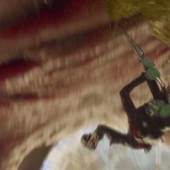 Gamora consigue matar al Abilisk