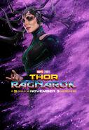 Hela Character Poster Thor Ragnarok