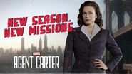 Agent Carter S2 Key Art
