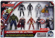 Marvel Avengers Age of Ultron-Avengers vs Ultron action figure 9 pack